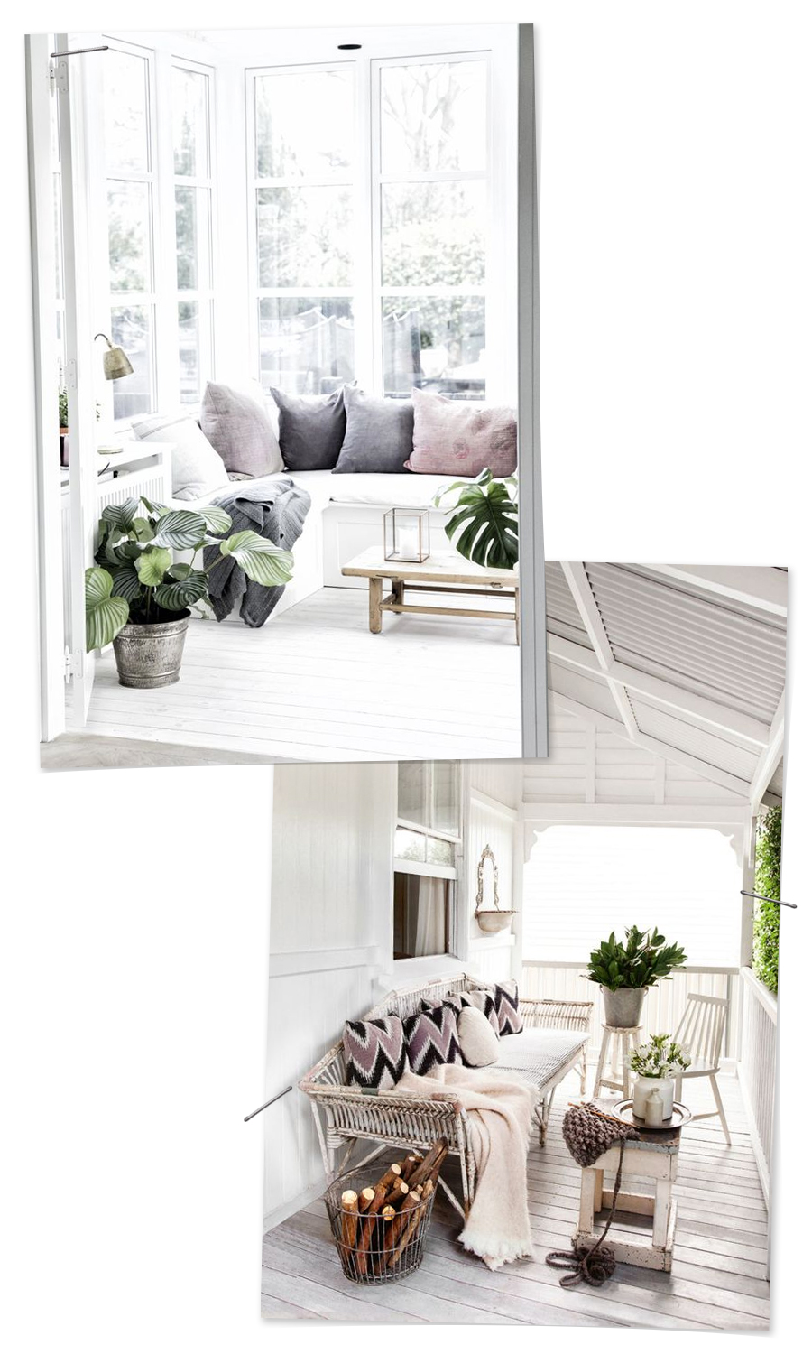 Neutral Grey Inspiration for the Front Porch