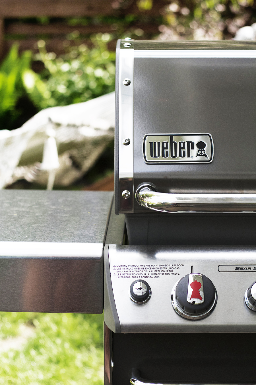 Summer Time Parties with a new Weber Grill