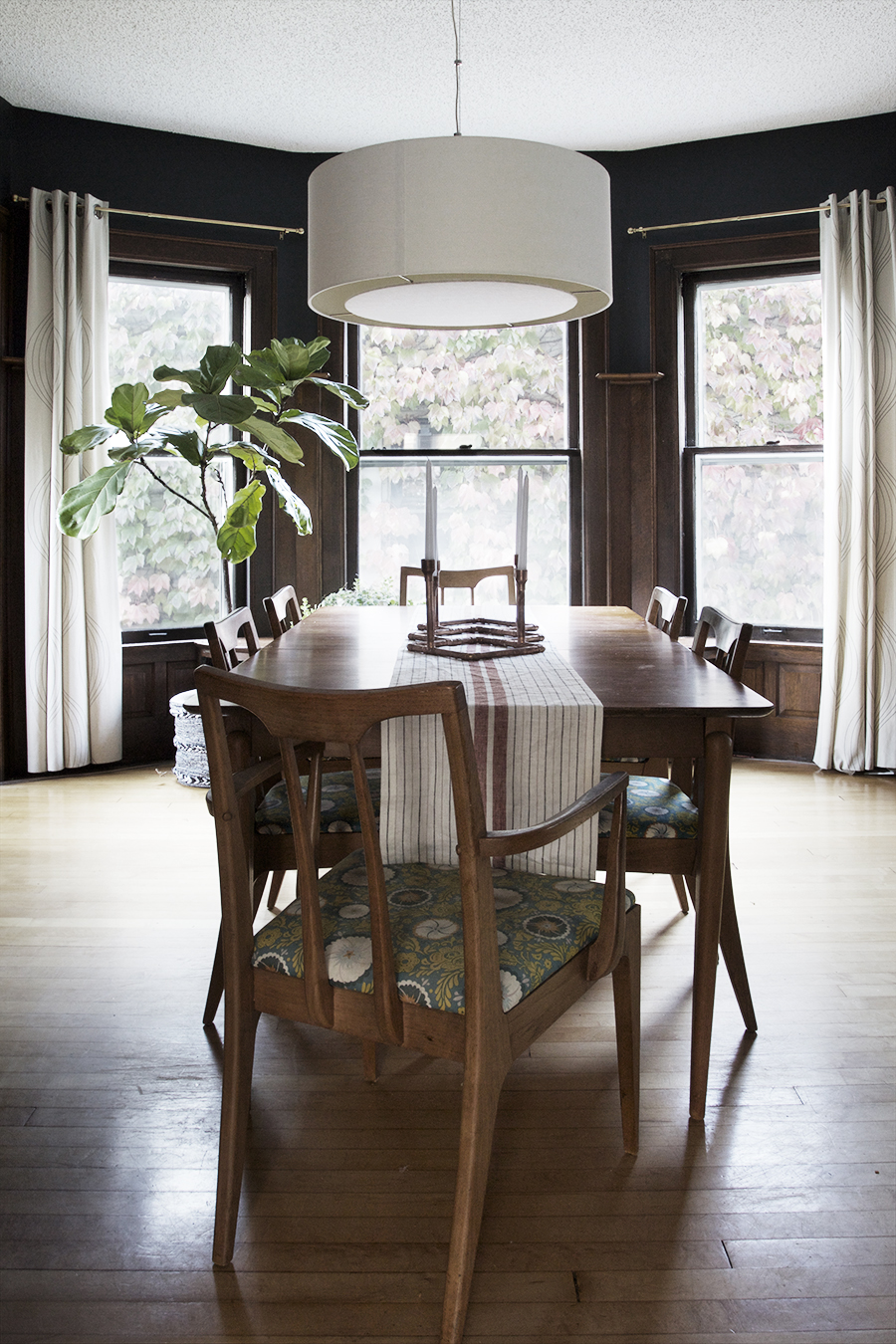 Dark Walls Compliment Unpainted Natural Woodwork | Deuce Cities Henhouse