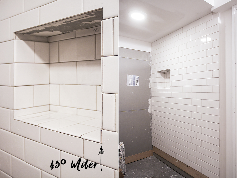 Bathroom Tiling Progress | Deuce Cities Henhouse