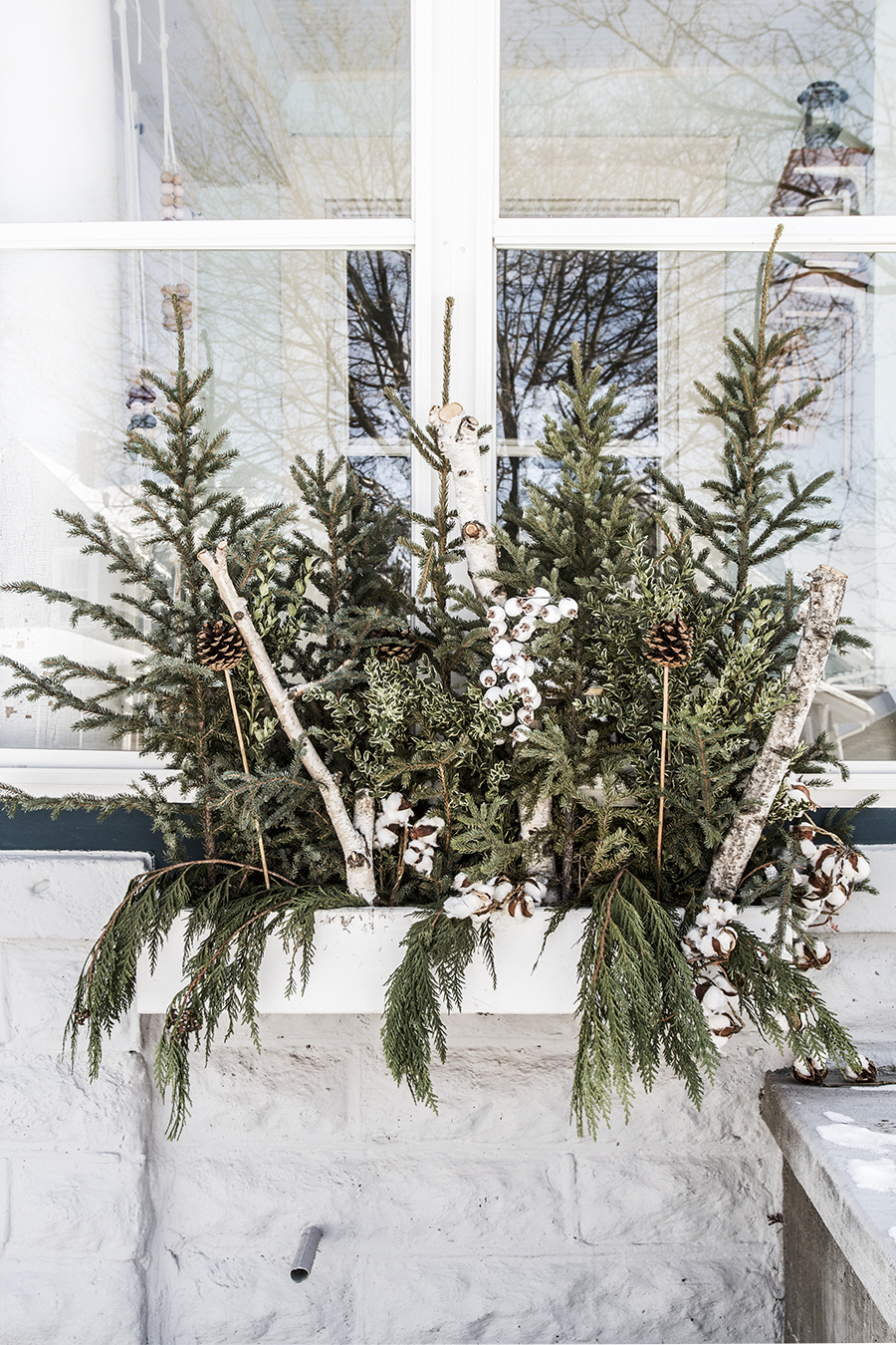 Minneapolis Home Decorated for Winter   Deuce Cities Henhouse