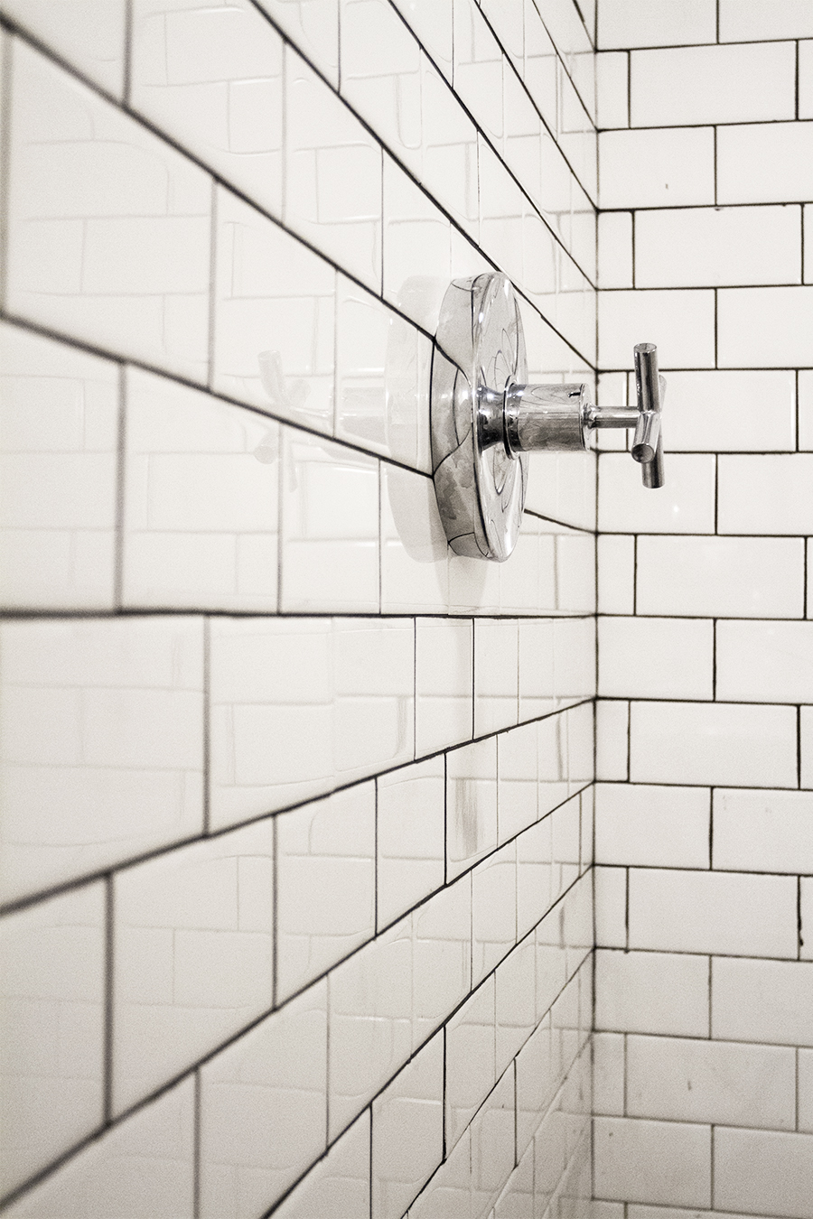 Kohler Fixtures with Subway Tile