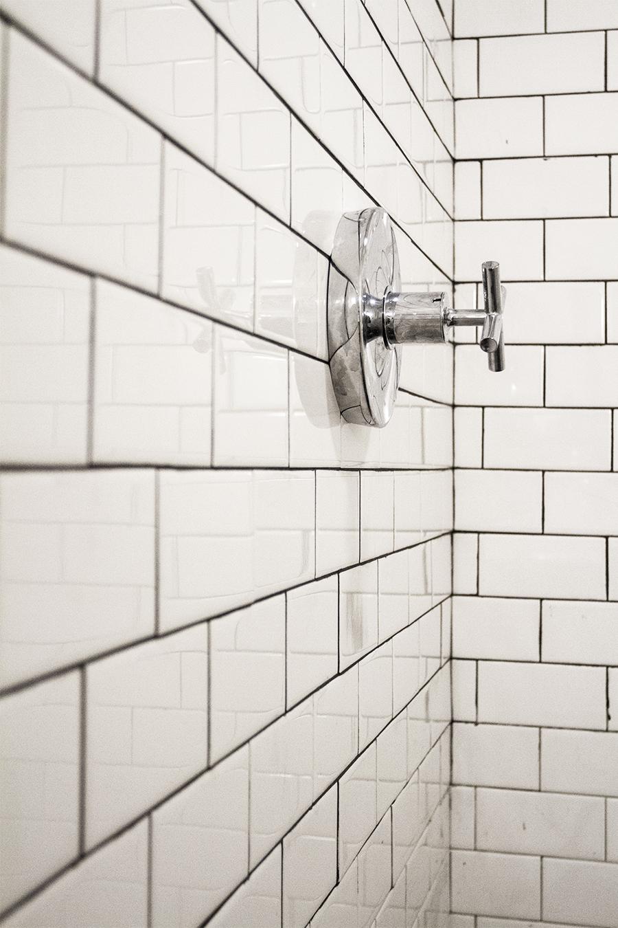 Kohler Fixtures with Subway Tile