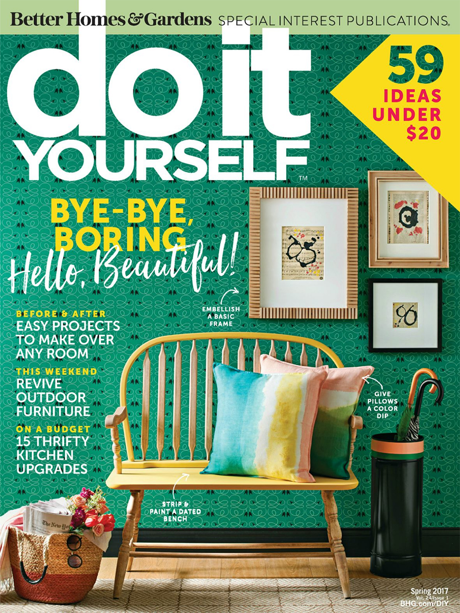 Diy Magazine our home featured in the spring issue of diy magazine - deuce cities
