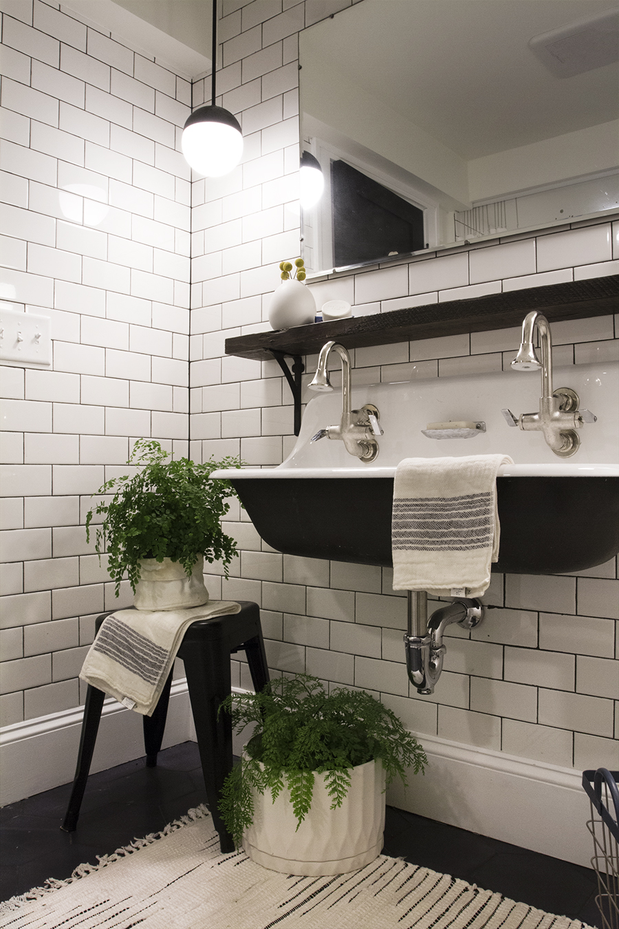Deuce Cities Henhouse Bathroom Reveal