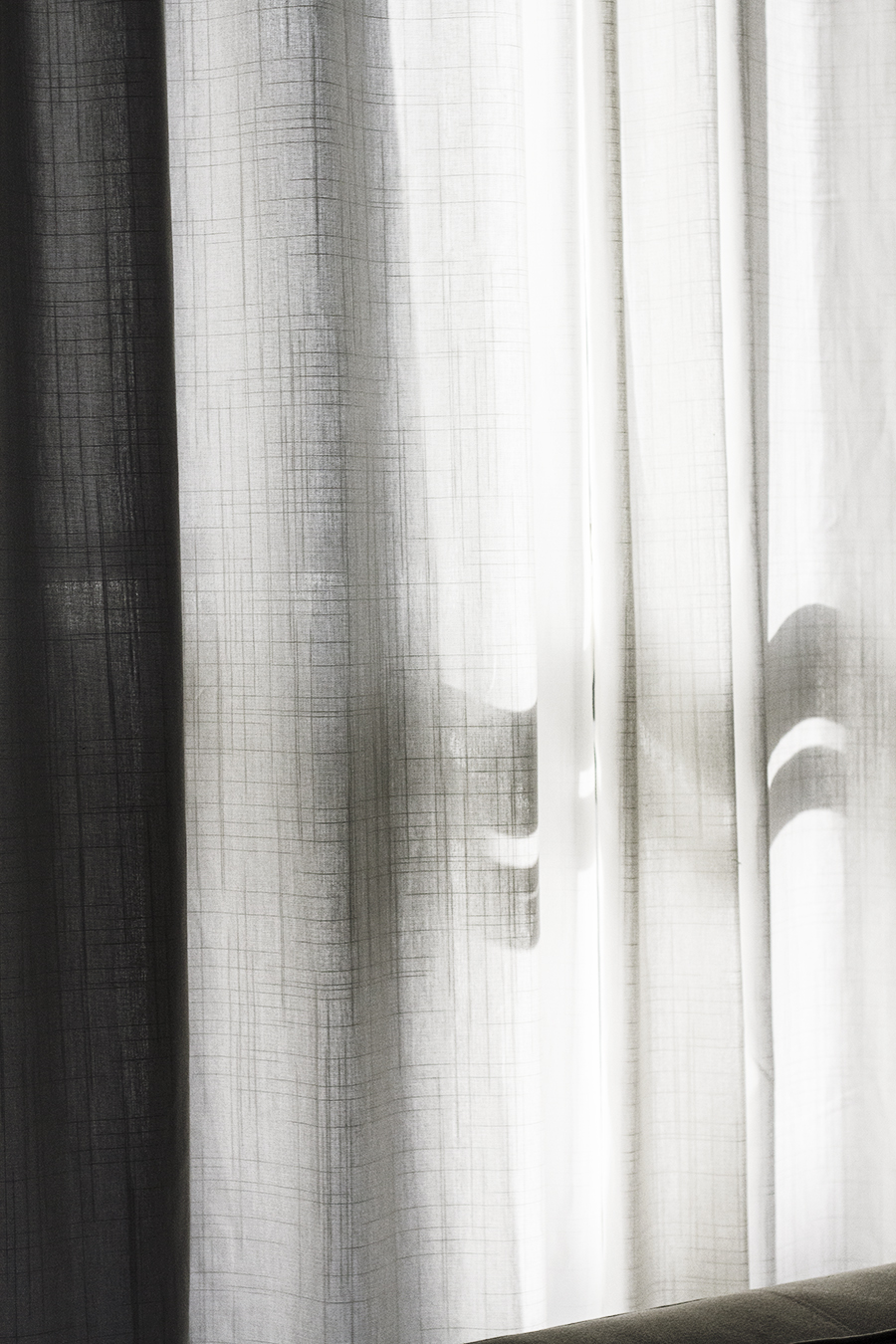 Tailored Curtains with Clip Rings | Deuce Cities Henhouse