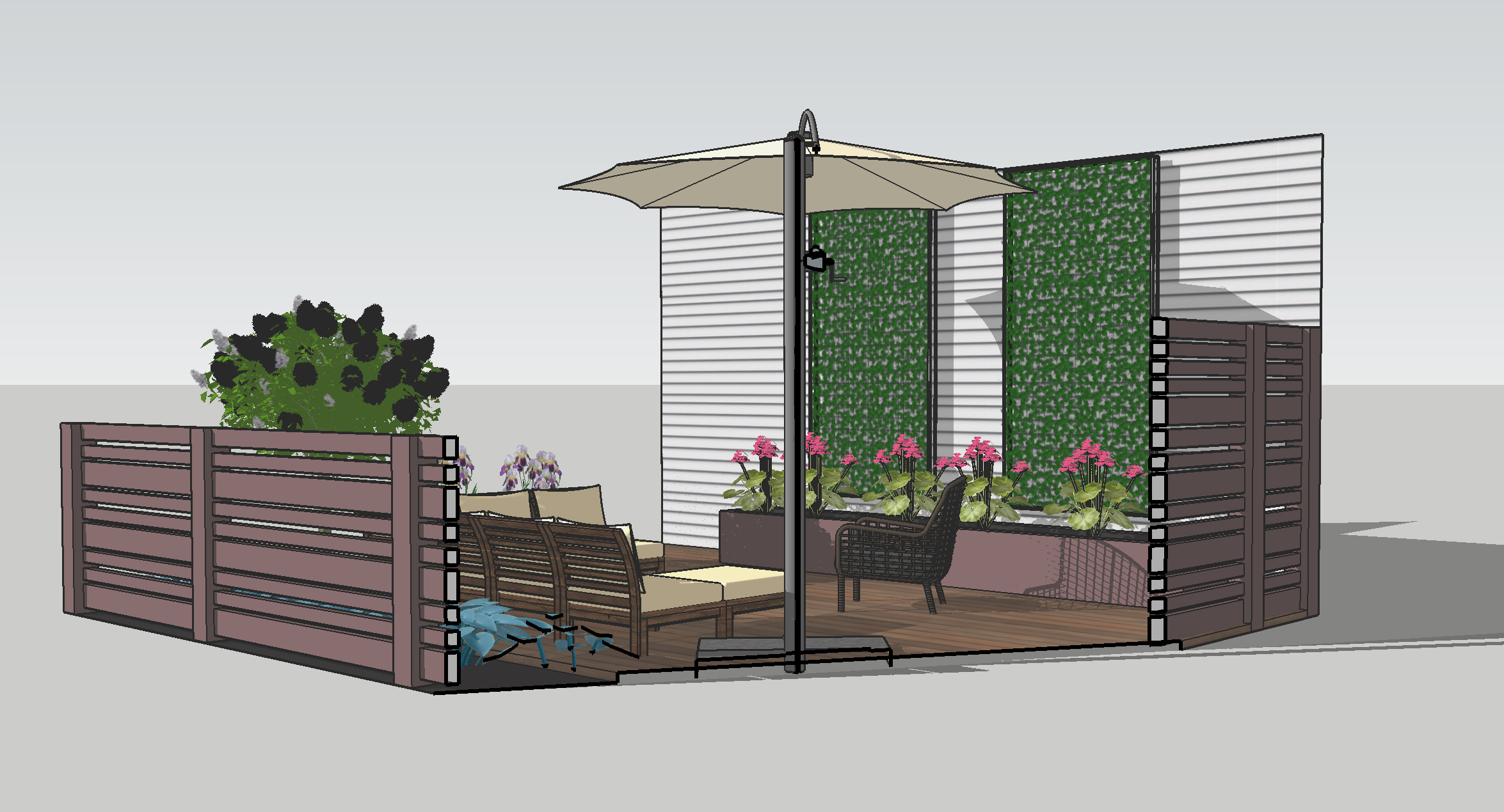 Backyard Patio Design | Deuce Cities Henhouse