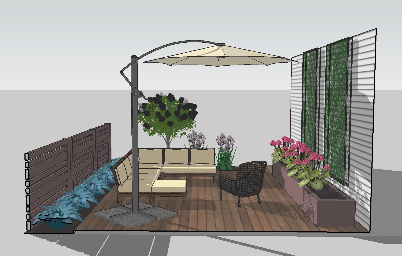 Backyard Patio Design | Deuce Cities Henhouse