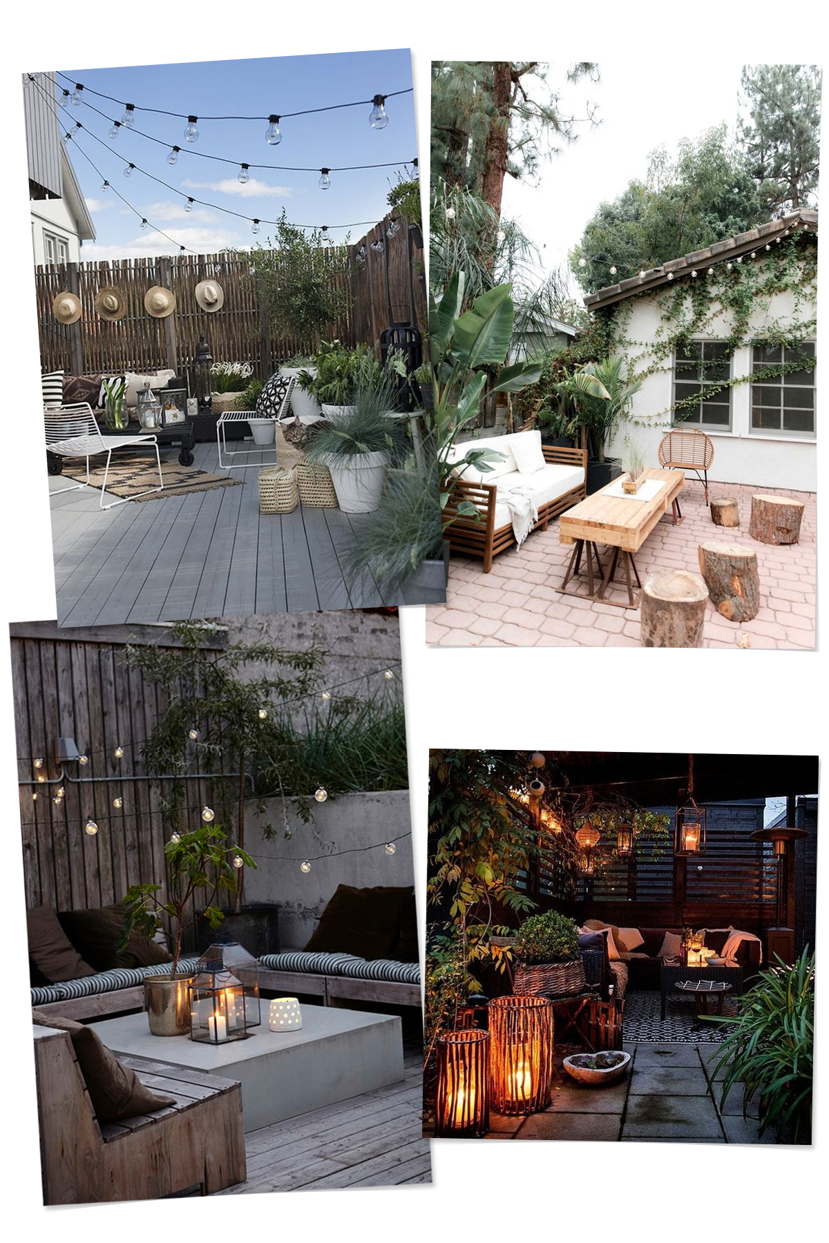 Inspiration - Simple Scandinavian Patios | Deuce Cities Henhouse