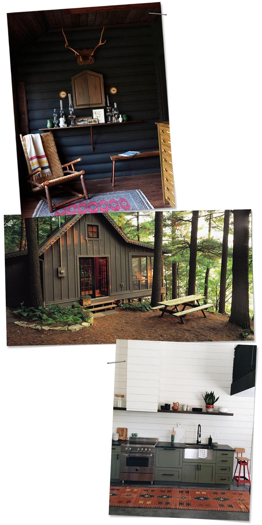 Cabin Inspiration | Deuce Cities Henhouse