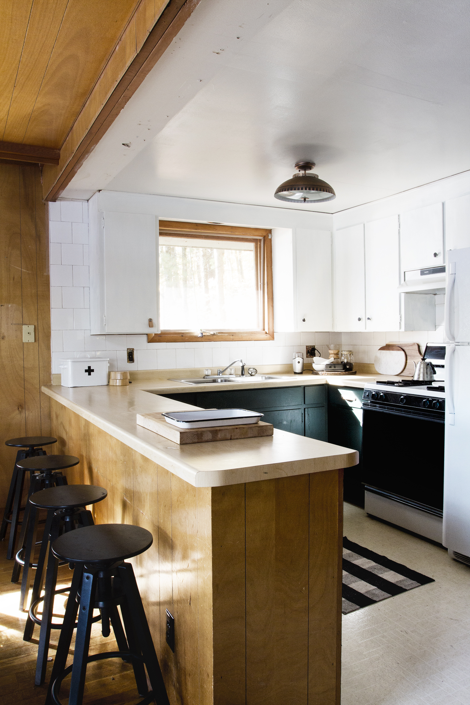 A Wisconsin A-Frame Style Cabin Renovation Story | Deuce Cities Henhouse