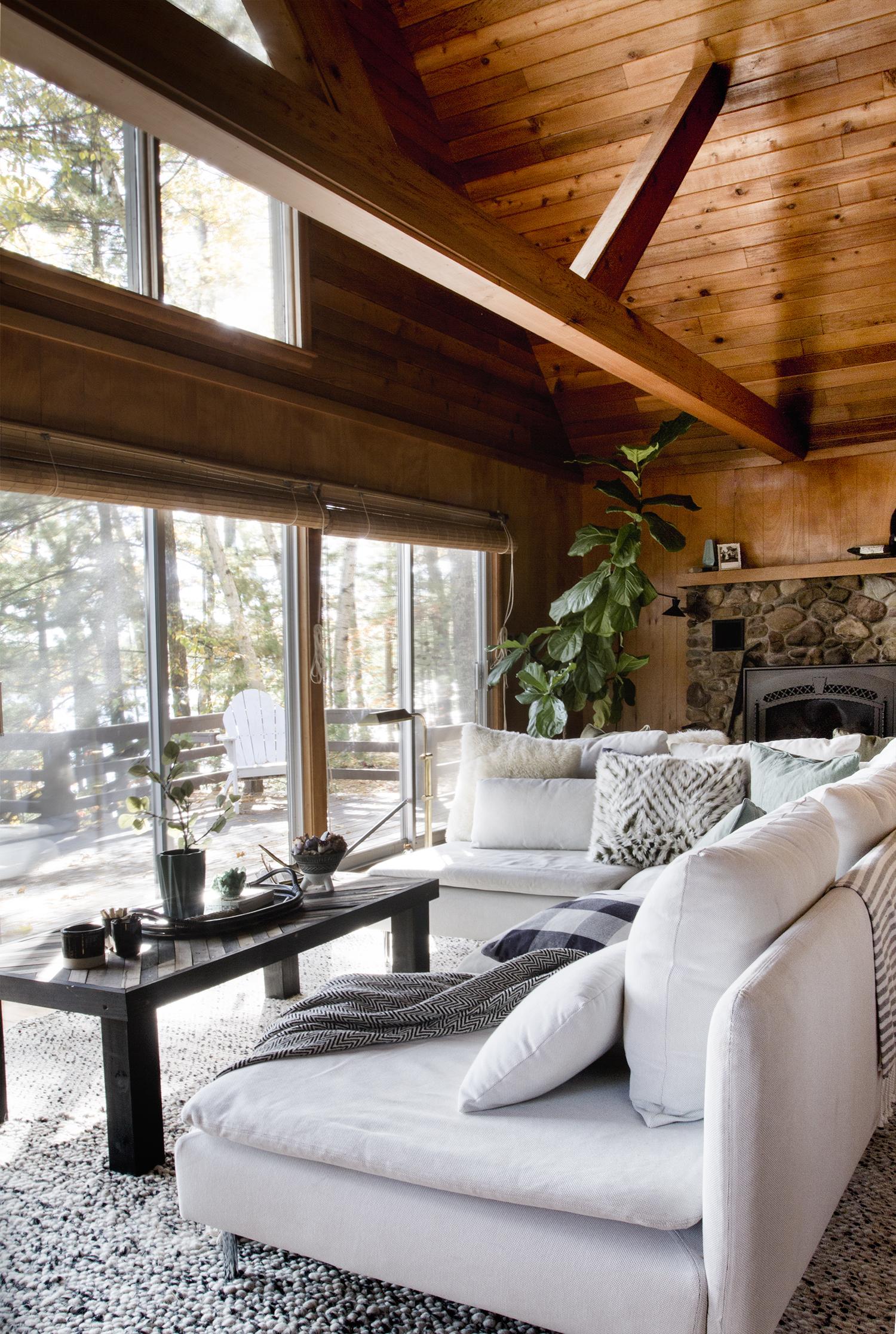 A Wisconsin A-Frame Style Cabin Renovation Story   Deuce Cities Henhouse
