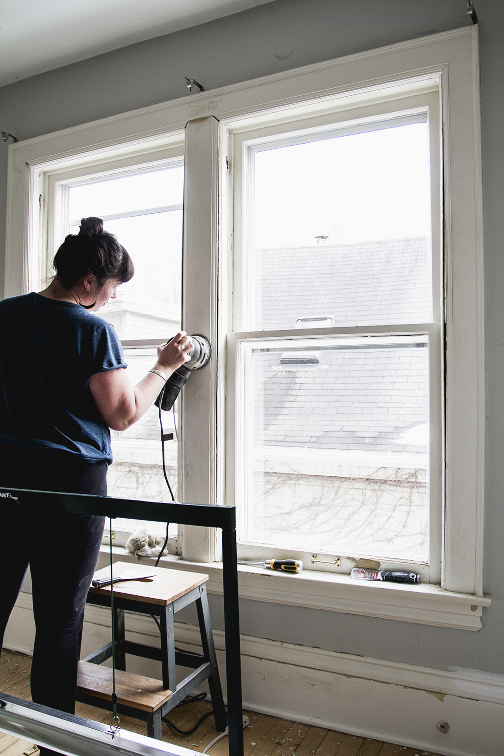 Stripping Paint on Old Doors and Repairing Antique Windows | Week 2 ORC