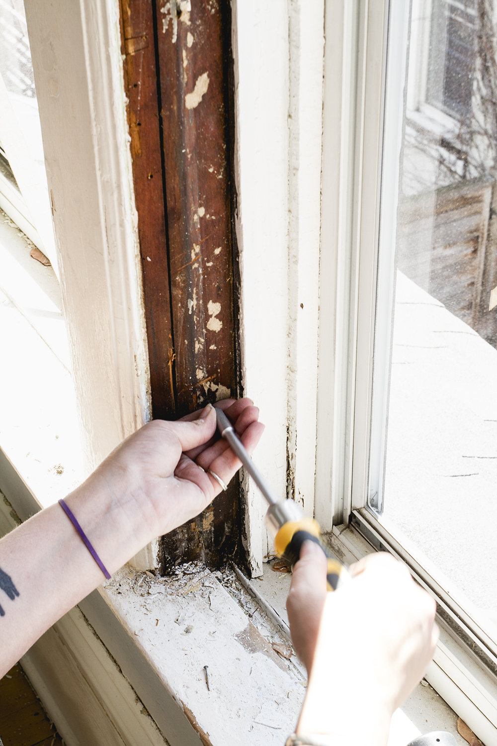Stripping Paint on Old Doors and Repairing Antique Windows   Week 2 ORC