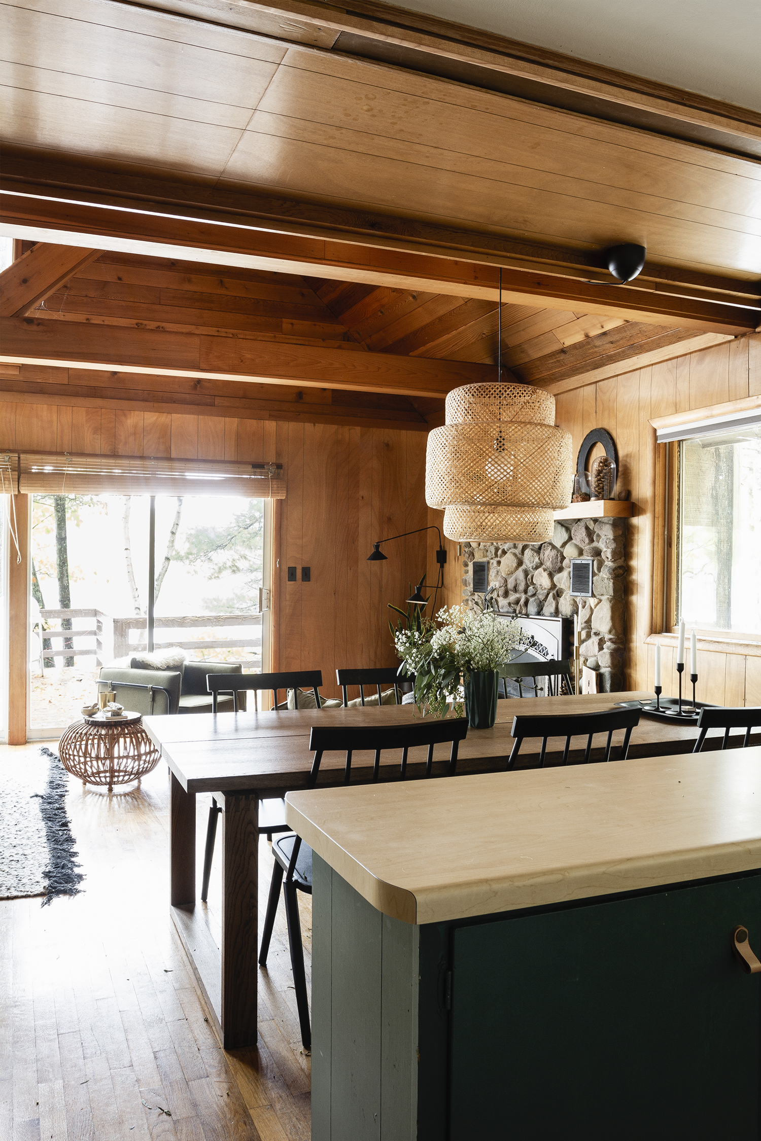 Cabin Kitchen Reveal | Deuce Cities Henhouse