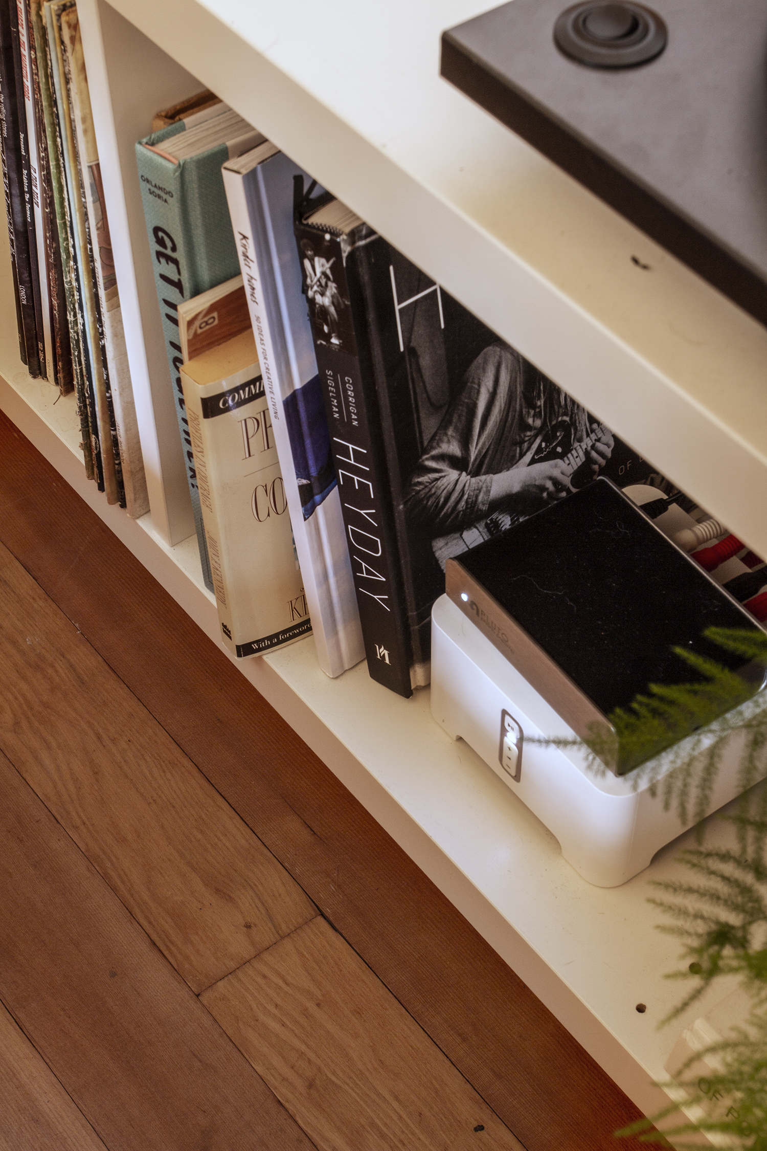 A Vinyl Record Loft at the Cabin | Deuce Cities Henhouse