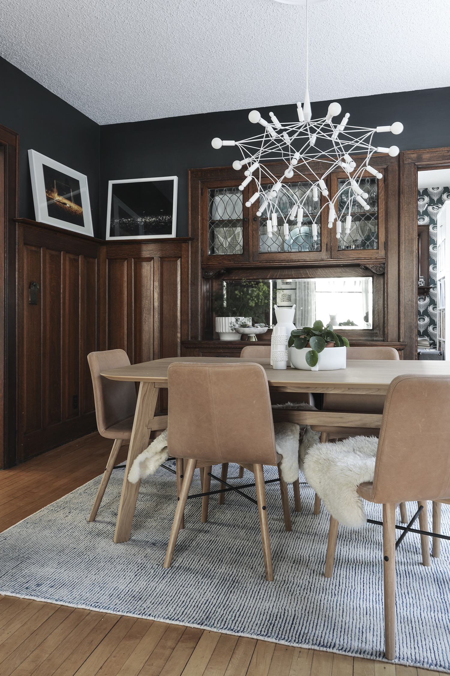 A Dining Room Refresh with Article | Deuce Cities Henhouse