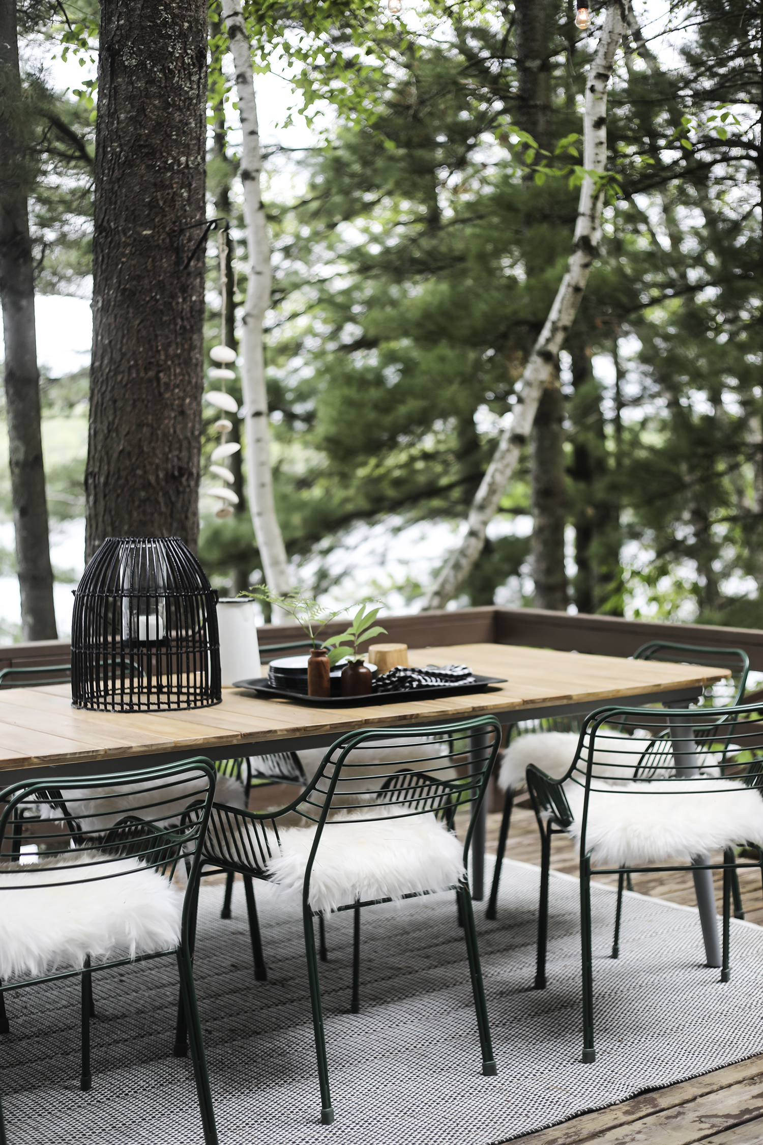 Our New Woodland Patio With Article Outdoor Furniture