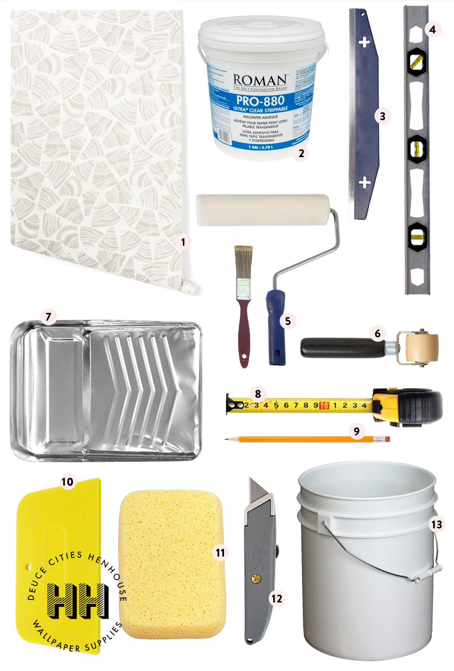 Wallpapering Supplies