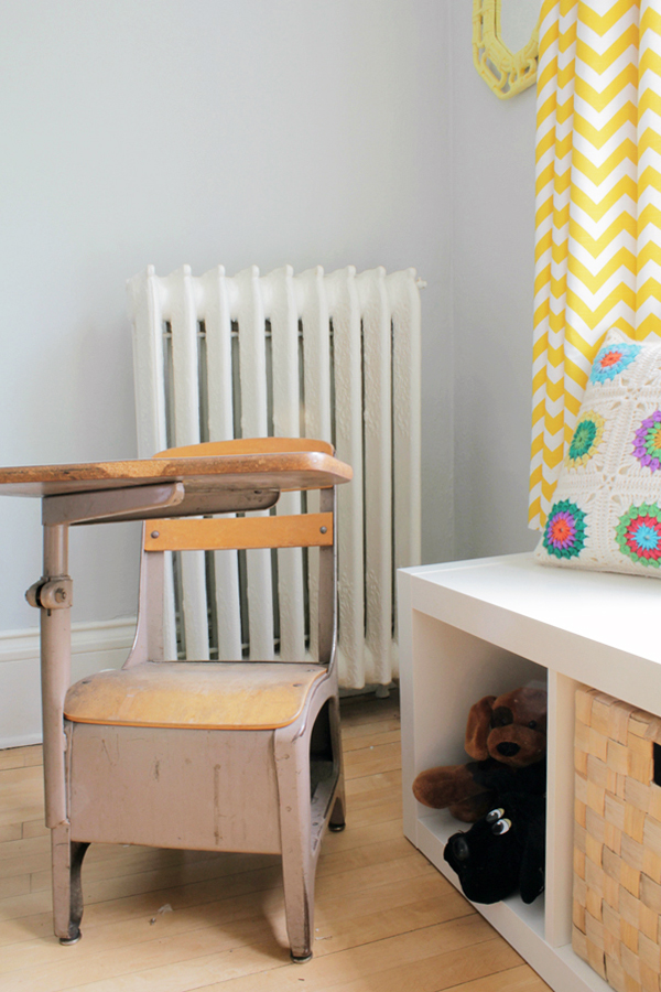 Deuce Cities Henhouse - Grey and Yellow Nursery