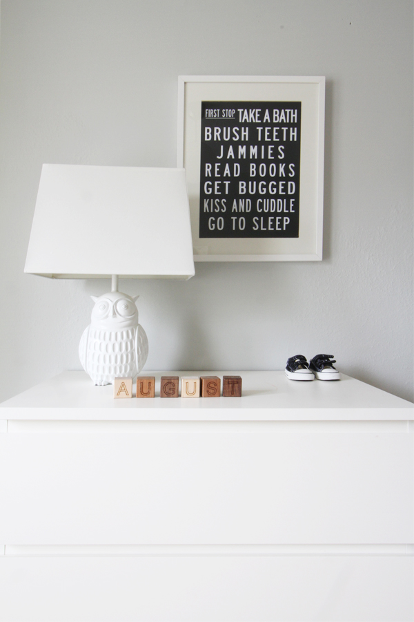 Deuce Cities Henhouse -  Black and White Nursery