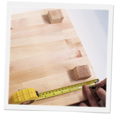 DIY Footed Cutting Board