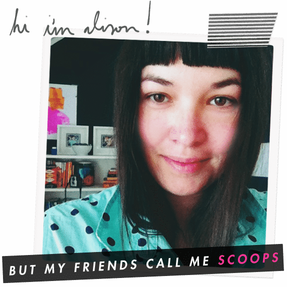 Hi, I'm Scoops!