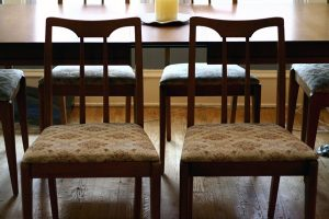 DIY: Recover your Dining Room Chairs, it's EASY!