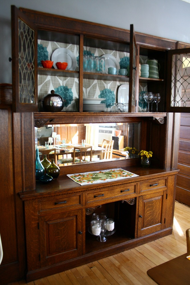 Dining Room Buffet Makeover, 100% Free!