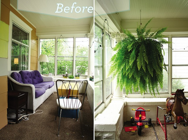My Quick and Easy Mini-Porch-Makeover