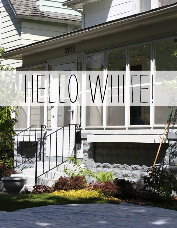 White Window Boxes