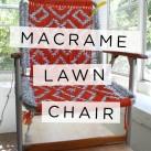 Coming Soon: Macrame Lawn Chair