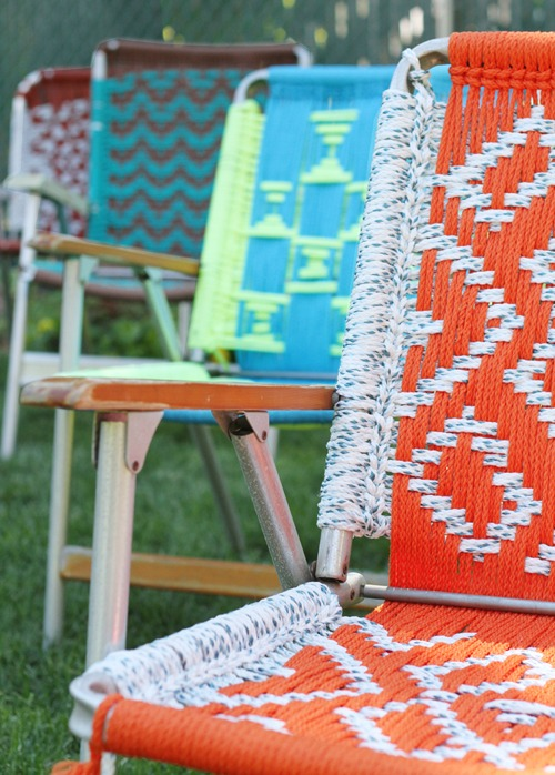 Tutorial Macrame Lawn Chair Deuce Cities Henhouse