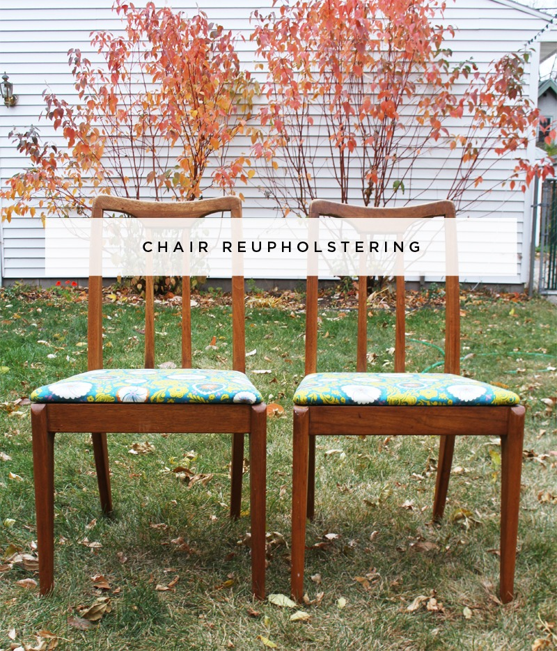 Easy Chair Reupholstering