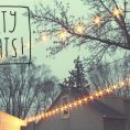 Hanging Outdoor Party Lights