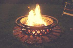 Semi-Permanent Fire Pit