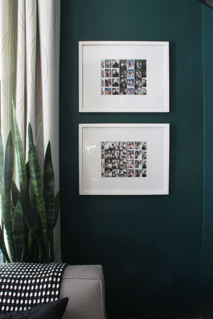 Framing Photo Booth Photo Strips