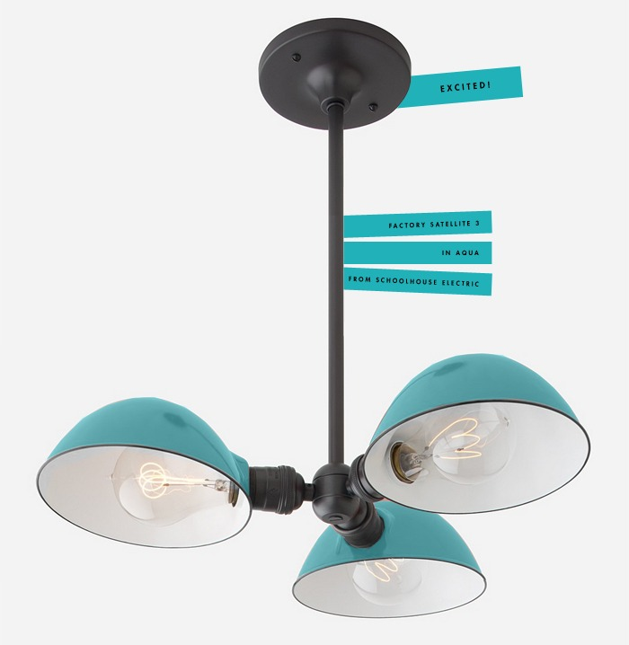 Aqua Light from Schoolhouse Electric