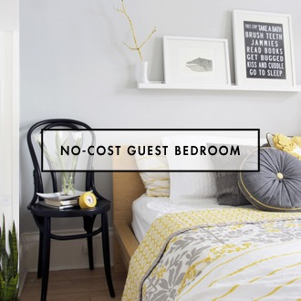 A Non Cost Guest Bedroom