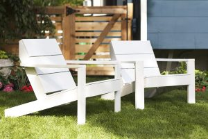 Threshold Bryant Chair Painted White