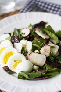 CSA Recipe : Radish & Turnip Salad