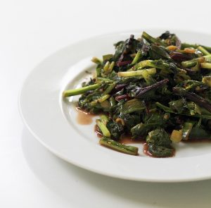 Braise Beet and Turnip Green Salad Recipe