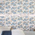 Tutrorial : Wallpaper an Accent Wall