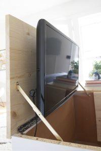 Hiding the Bedroom TV