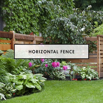 The making of a Horizontal Fence