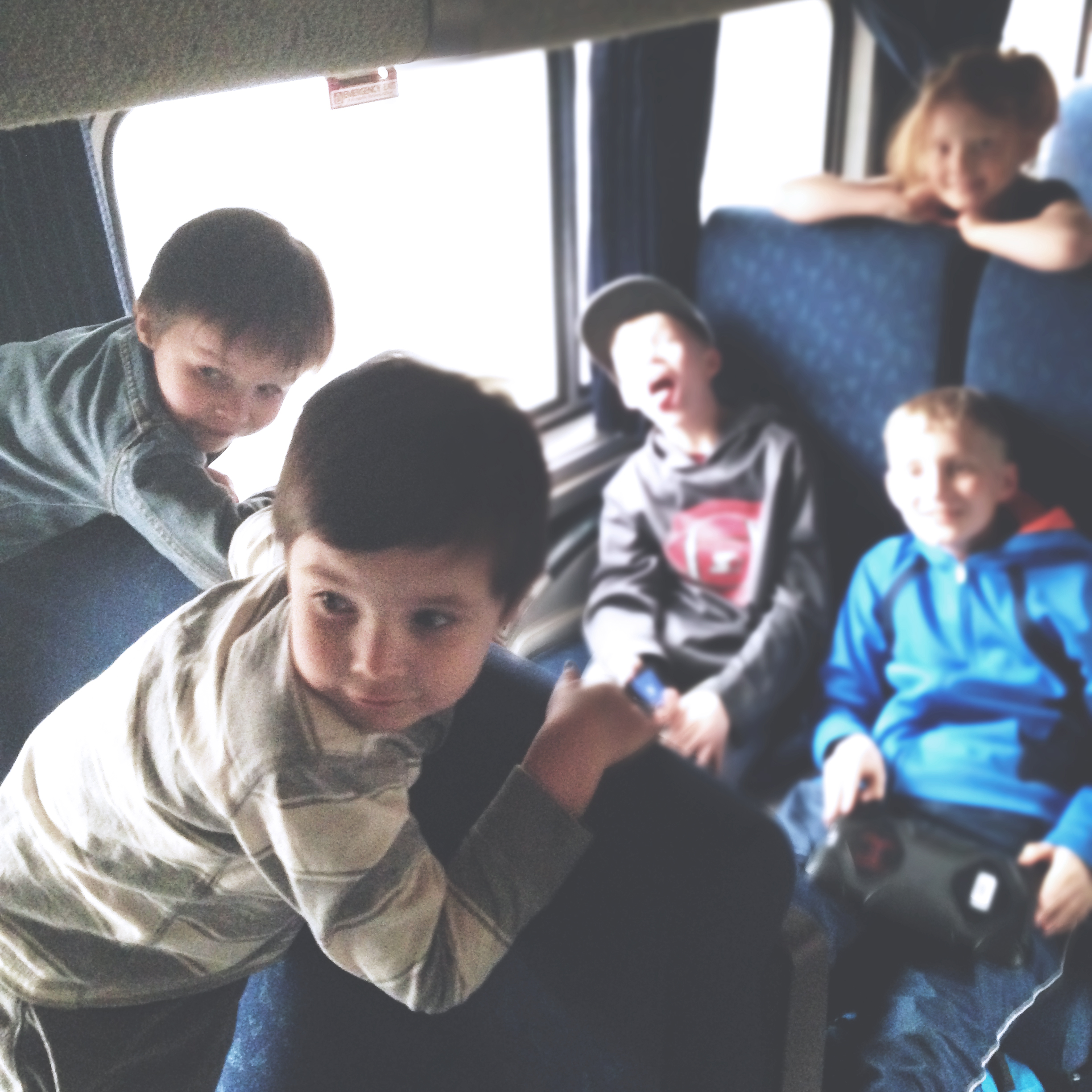 Riding the Rails with Kids