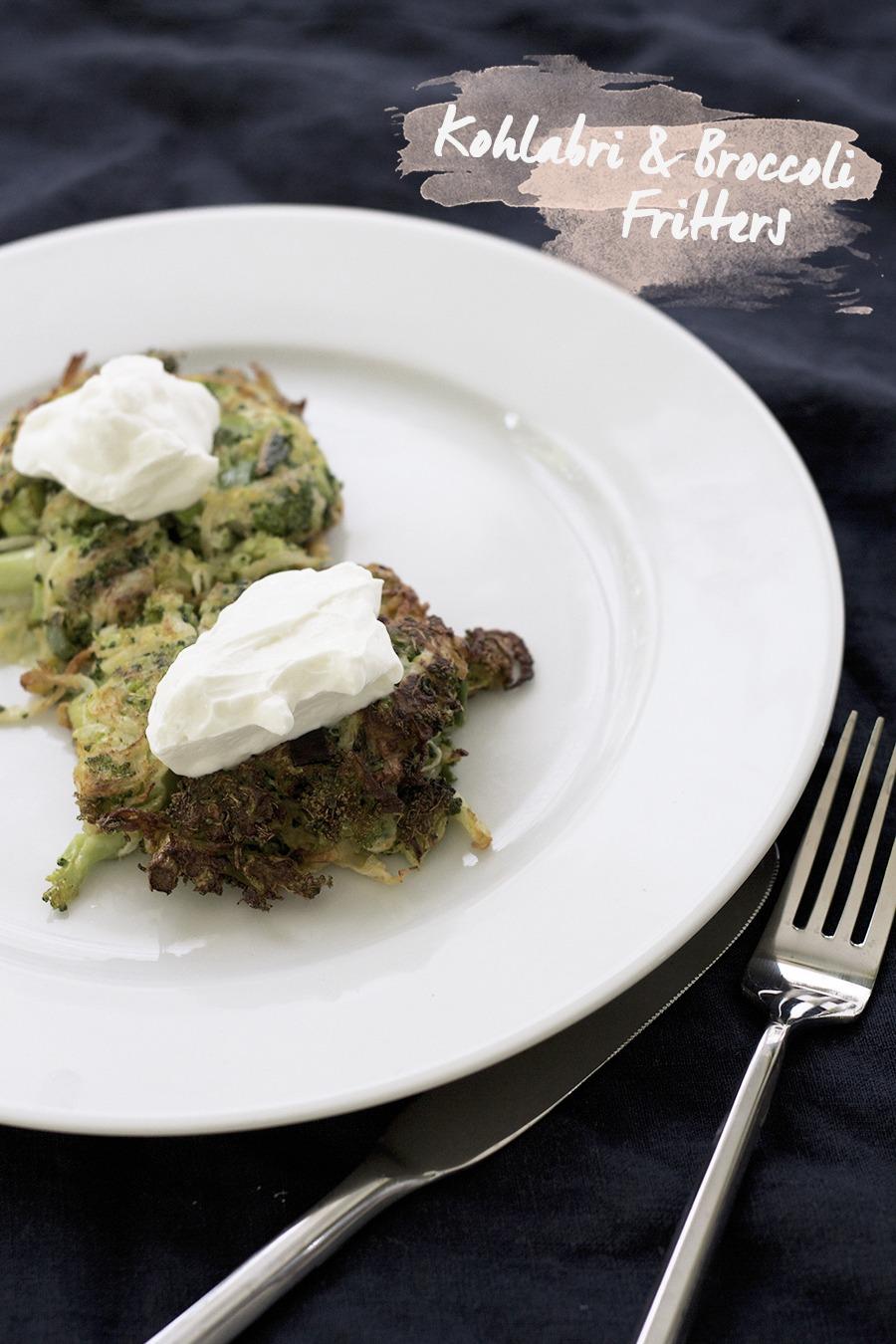 CSA Recipe : Kohlrabi & Broccoli Fr...