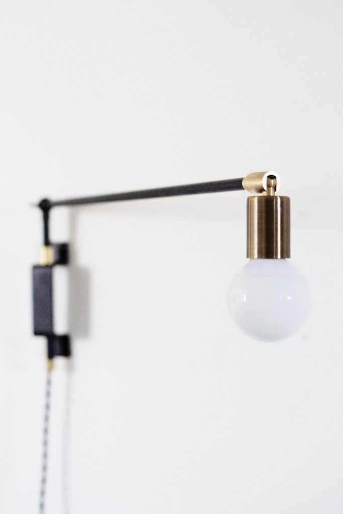 How to Build a Modern Swing Arm Lamp