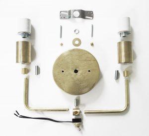 DIY Light Fixture : Brass Sconce