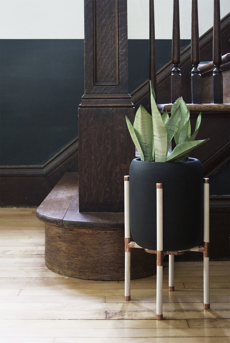 Entryway : DIY Copper Plant Stand